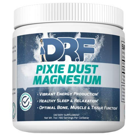 Pixie Dust Magnesium by Dr. Farrah World Renown Medical Doctor | Vibrant Energy Production | Healthy Sleep & Relaxation | Optimal Bone, Muscle, & Tissue Function