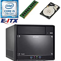 Shuttle SH110R4 Intel Core i5-7400 (Kaby Lake) XPC Cube System , 4GB DDR4, 1TB HDD, DVD RW, WiFi, Bluetooth, Pre-Assembled and Tested by E-ITX