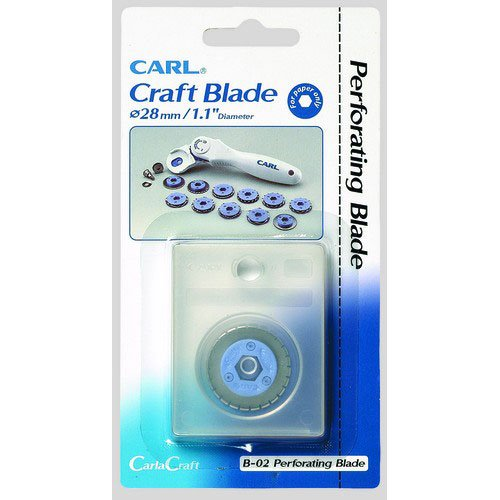 Carl Replacement Perforation Blade - 1 Pack (B-02)
