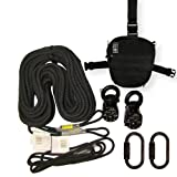 Rock Exotica Aztek Pulley Tactical Pro Kit Black P41KITPRO-B Plus 2 FREE Auto Bilock Carabiners