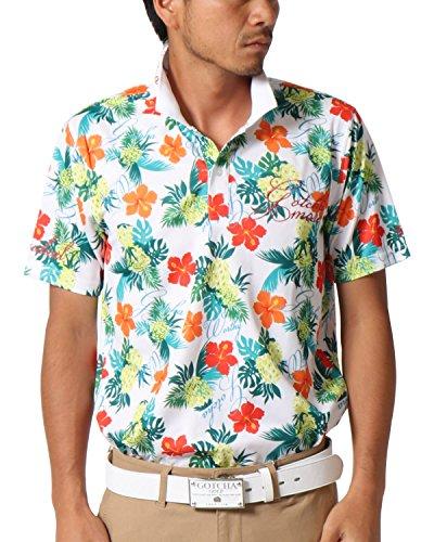 [ガッチャ ゴルフ] GOTCHA GOLF ポロシャツ トロピカル ドライ ポロ 182GG1223 ソノタ Lサイズ