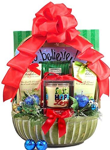 We Believe John 3:16 Christian Christmas Gift Basket