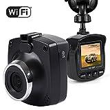 Dash Cam with WiFi, Maxesla 1080P dash camera for cars Full HD Dashboard