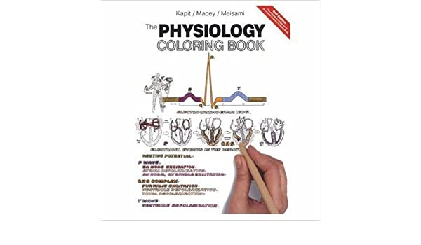 The Physiology Coloring Book 2nd Edition By Wynn Kapit Robert I Macey Esmail Meisami2nd Textbook ONLY Paperback Amazon Books