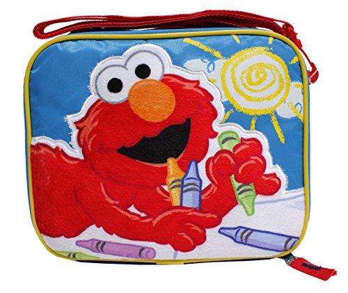 "Lunch Bag - Sesame Street - Elmo - Big Sun 9"""