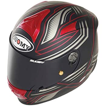 Suomy SR Sport Helmet (Racing Matt Red, X-Large)