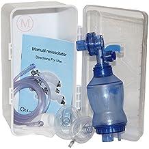MCR Medical Supply BVM-3021-001 PVC (Polyvinyl Chloride) Infant Training Bag Valve Mask (BVM) in Plastic Carry Case