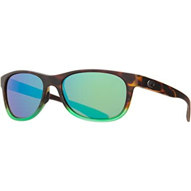 2aa300879 Costa Del Mar PR 77 Prop Matte Tortuga Fade Square Sunglasses for Mens -  Size 580P (Green Mirror Lens): Amazon.co.uk: Clothing