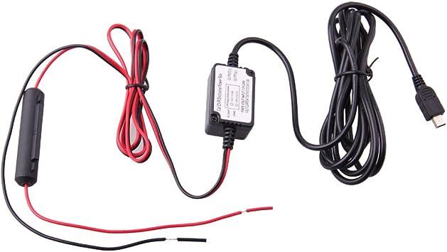 Car Dash Camera Hard Wire with Medium Small Mini Fuse Holder Kit For Nextbase