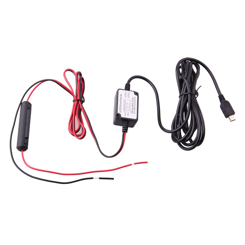 51yhVeP3RrL._SL1000_ amazon com spy tec mini usb dash cam 10 foot hardwire kit for how to wire dashcam to fuse box at edmiracle.co