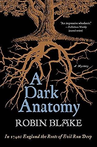A Dark Anatomy Cragg Fidelis Mystery Book 1 By Robin Blake