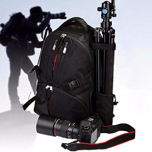 Shentesel Professional Waterproof Backpack Photography Package SLR Camera Laptop Bag Pouch - Black by Shentesel (Image #3)