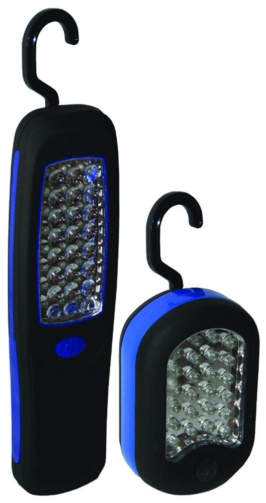 Clam 9036 Compact LED Combo 2-Pack , Small and Large Rectangle