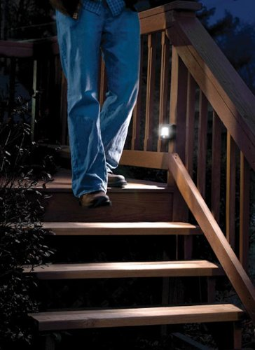 Mr. Beams MB522 Wireless Battery Operated Indoor/Outdoor Motion Sensing LED  Step