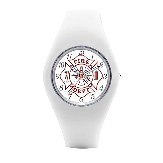 Bombero deportivo relojes Fire Fighter para hombre relojes deportivos: Amazon.es: Relojes