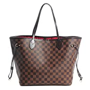 V Style Bags Women Handbag Tote MM Shoulder Bag Organizer made of Canvas Size 12.6 x 11.4 x 6.7 inches