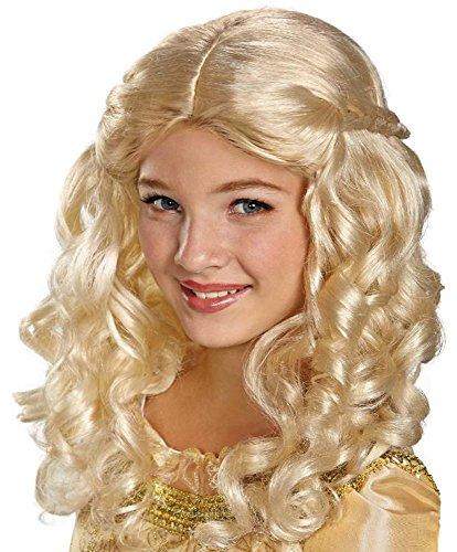 Maleficent Aurora Costume Kids (Disguise Disney Maleficent Movie Girls Aurora Wig)