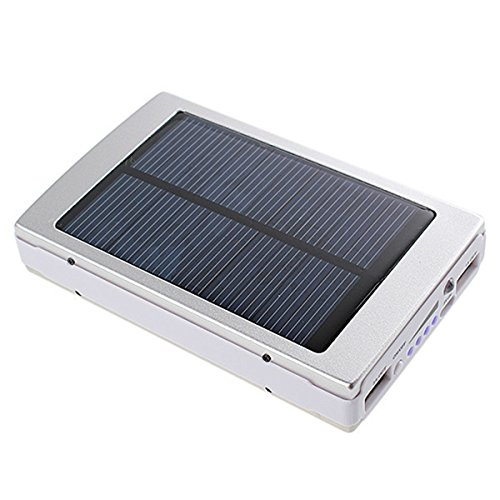 Reliable RBL 20LED Solar 13000 mAh Power Bank  Silver
