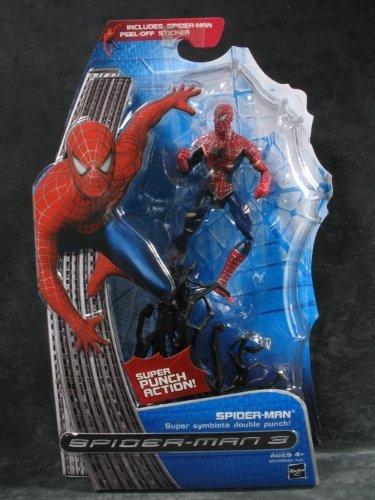 Marvel Battle Damage Spider-Man Figure Spider-Man 3 Movie Series 1