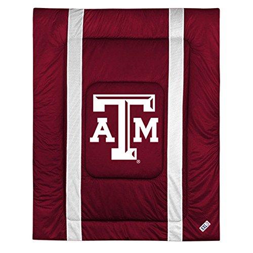 Comforter Texas Sidelines (NCAA Texas A&M Aggies Sideline Comforter Twin)
