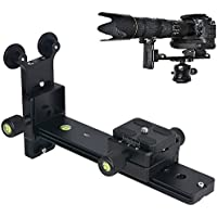 FOTGA L200 Telephoto Lens Quick Release Plate Long-Focus Support Holder for Tripod Ball Head DSLR Camera