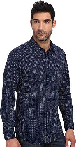 Rodd & Gunn Men's Copeland Shirt, Navy, Large
