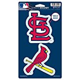"MLB St. Louis Cardinals WCR62522014 Magnets (2 Pack), 5"" x 9"""