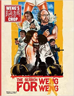Book Weng's Chop 4 (The Search for Weng Weng Cover)