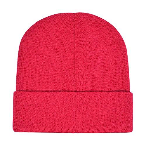 Red Winter Beanie - 6