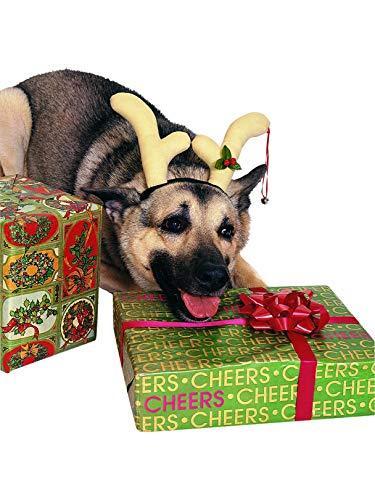 Dog Reindeer Headpiece Pet