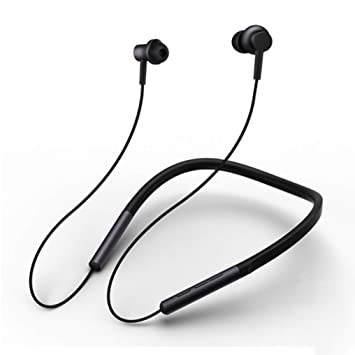 Xiaomi Mi Bluetooth Neckband Auriculares Diseño de Cuello Deportes Auriculares Bluetooth Inalámbricos Micrófono magnético Play Dual Auriculares dinámicos: ...