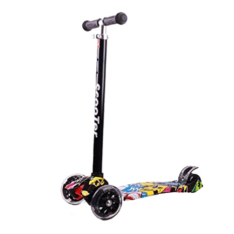 Patinete para Niño con 4 PU destellando ruedas diseño de ...