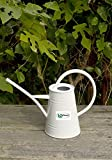 Calunce fashion rustic retro textured gardening tools long spout watering can (White)