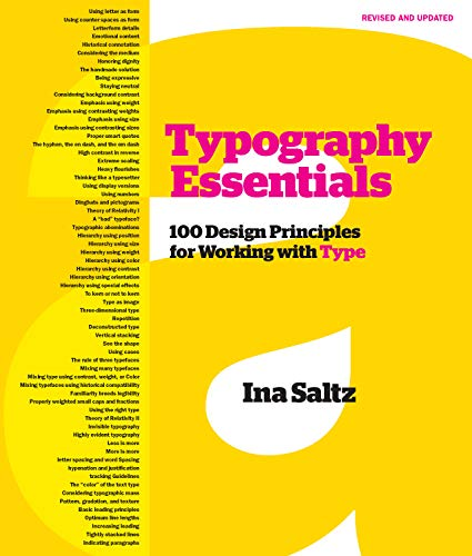 Typography Essentials Revised and Updated: 100 Design Principles for Working with Type