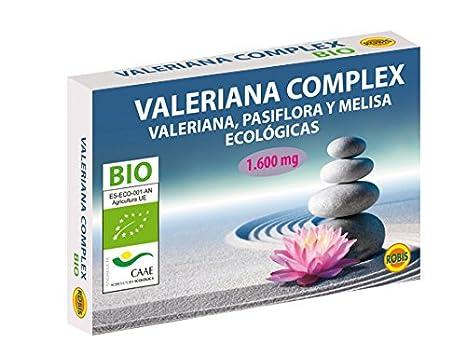 Robis Valeriana Complex Bio Complemento Alimenticio Ecológico - 60 Cápsulas