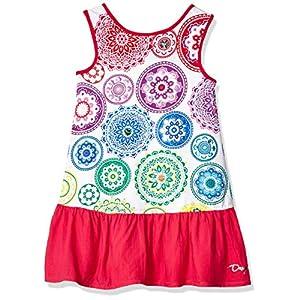 Desigual Girl's Knit Dress Sleeveless (Vest_argel)