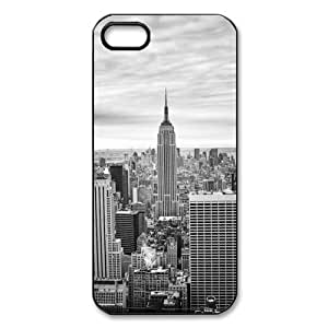 York City Iphone 5/5S (Black) with Best Silicon Hard