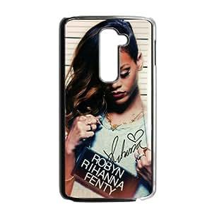Robyn Rihanna Fenty Black Phone Case for LG G2