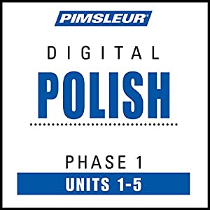 Polish Phase 1, Unit 01-05 Audiobook