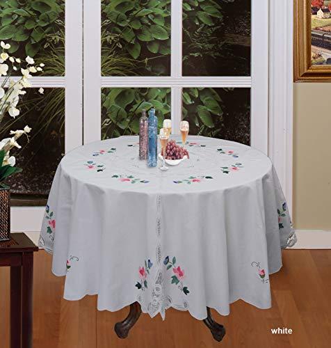 tkcreativelinenswholesale Battenburg Lace Tablecloth 68