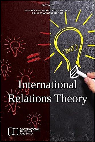 International Relations Theory (E-IR Foundations): Amazon co