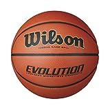 Wilson Evolution Indoor Game Basketball, Intermediate - Size 6