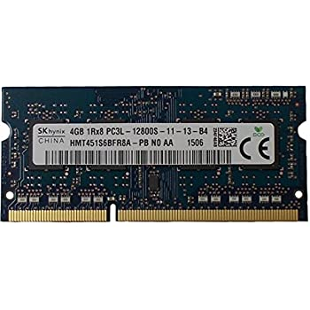 Ram memory 4GB (1 x 4GB) DDR3 PC3-12800,1600MHz, 204 PIN SODIMM for laptops