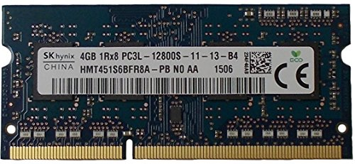 Ram memory 4GB  (1 x 4GB) DDR3 PC3-12800,1600MHz, 204 PIN SODIMM for laptops - Hynix Semiconductor