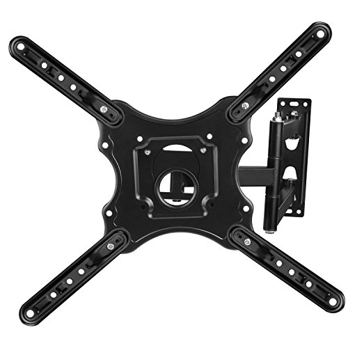 Tilting TV Wall Mount for 25-inch to 55-inch TVs Monitor Bracket SAMSUNG, SONY, LG, VIZIO, TCL, ELEMENT, SCEPTRE, HISENSE and other TV brands between 25 and 55 Inch Screen Sizes by AC Doctor INC