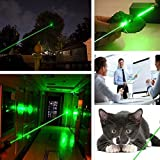 Sweet Cute Chocolate Green Light Pointer High Power Demonstration Projector Pen, Pet Toy for Cats Dogs Handheld Flashlight for Camping Biking Hiking Outdoor