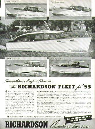 Amazon com: Richardson Cruiser Double Cabin & Express