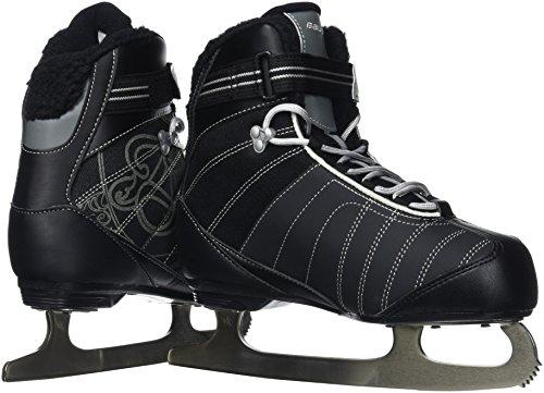 Bauer Women's React Recreational Ice Skates, Black, R 05.0