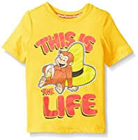 Curious George Boys' Short Sleeve Graphi...