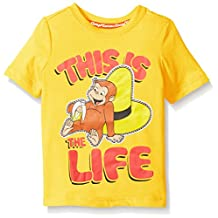 Curious George boys Toddler Boys Short Sleeve Graphic Tee